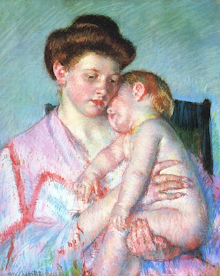 Cassatt_Mary_Sleepy_Baby_1910